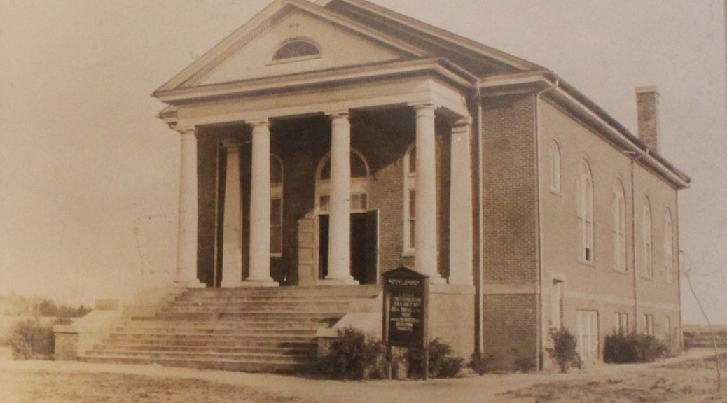 Old Inman Mills Baptist Church
